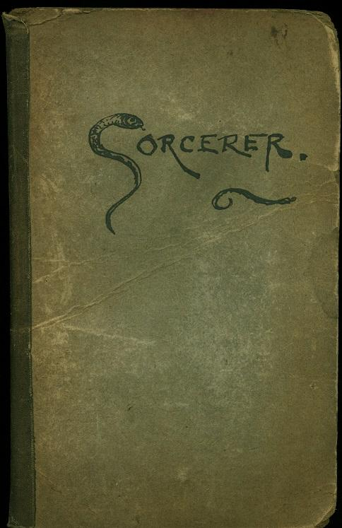 1934 12 the sorcerer notebook directors notes cover