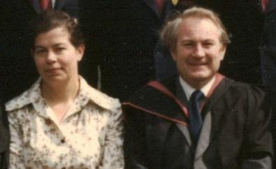 Susan and Gordon Smith at Brighton Junior School in 1978