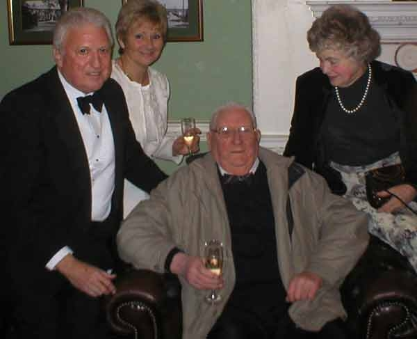 Although he could not attend the meal everyone was delighted to see Bill Blackshaw, and his wife Elizabeth, at the reception. Bill has recently been very ill after a hip operation, so to see him out and about was pleasing for all to see.