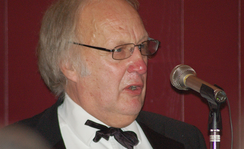 Tony Whitestone, OBA President  at the 2008 Annual Dinner